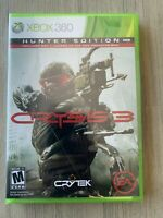 XBOX 360 game Crysis 3 Hunter Edition - Brand new and still sealed!