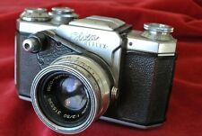 Edixa Reflex c.1954 with Isco Westagon f2.0 lens. No return.