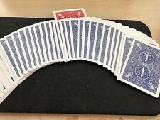MARKED CARDS  Brainwave Card Deck Red / Blue Bicycle Professional Magic Trick