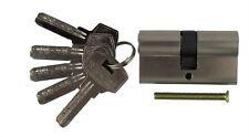 Schließzylinder Türzylinder 30 / 30 mm mit 5 Schlüsseln