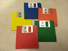 "(1) NEW AT&T or FUJIFILM Floppy Disk 2HD 3.5"" IBM Formatted 1.44 MB,  NEW Label"