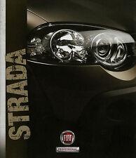 Prospekt Fiat Strada Pick-up 7/12 2012 Autoprospekt Broschüre Auto Pkw brochure