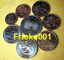 Finland - Finlande - 1 cent tot 2 euro 2005 unc.