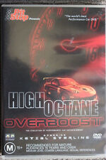 HIGH OCTANE OVERBOOST PIT-STOP RARE DELETED OOP R4 DVD FILM PERFORMANCE CAR SHOW