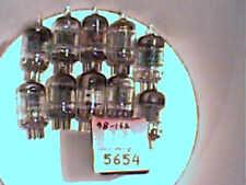 Tube lot of 11ea 5654 1NIB  5JAN  (same as 6AK5) tstd amp radio amplifier ham