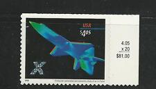 2006 #4018 $4.05 X-Plane Priority Mail Stamp Mint NH