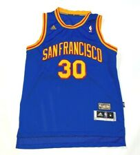 Stephen Curry San Francisco Golden State Warriors Throwback Jersey Medium