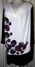 Damenblusen, - tops & -shirts im Tunika-Stil ohne Kragen aus Viskose