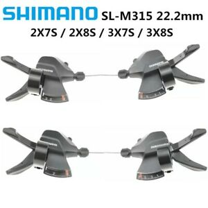 Shimano Altus M315 2/3/7/8 Speed Trigger Shifter Dual Lever Shifters Set New