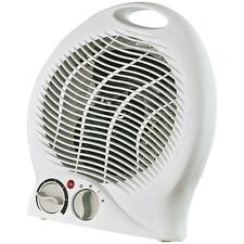 OPTIMUS H1322 White Heater Fan Portable With Thermostat HEOP1322 Fan Heater NEW