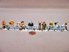 Dreamworks Feves Porcelain 10 Figurines Shrek, Fiona, Donkey, Cat Epiphany Cake