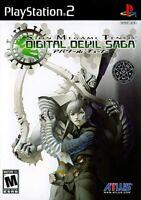 Shin Megami Tensei Digital Devil Saga ( Sony PlayStation 2 / ps2 ) Brand New