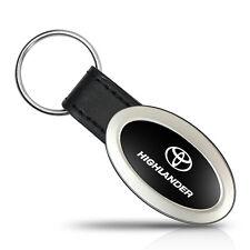 Toyota Highlander Oval Style Metal Key Chain Key Fob