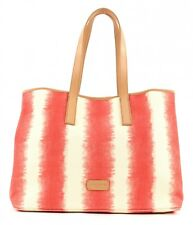 LIEBESKIND BERLIN Savannah Beach Bag Schultertasche Shopper Striped Red Rot Weiß
