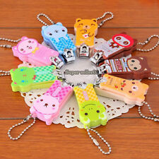 New Manicure Nail Care Tool Cute Cartoon Animal Nail Clippers Scissors  Keychain