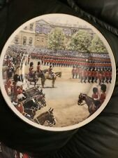 Trooping The Colour Plate by Fenton China