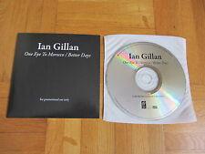 IAN GILLAN One Eye To Morocco 2009 GERMANY collectors CD single deep purple