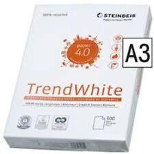 Recycling Kopierpapier A3 !! STEINBEIS TREND WHITE 80g 500 Blatt Druckerpapier