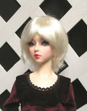 "Doll Wig, Monique Gold ""Roxie"" Size 5/6  - White Blonde"