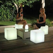Remote Control LED Garden Light Seats Love Island