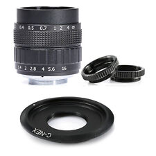 Fujian 25MM f/1.4 CCTV Movie Lens for Sony E NEX Mount Camera NEX7 NEX6 NEX5