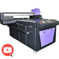 LED UV Drucker mit EpsonDX5 Druckkopf 5-Farb-Druck CMYKW Flachbettdrucker 1x1,5m