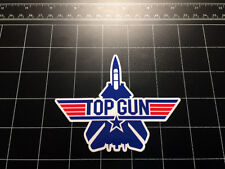 Top Gun 1986 movie fighter jet F14 tomcat logo decal sticker Military US Navy