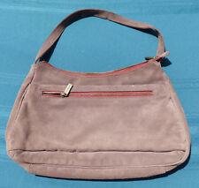 Hedgren Brown leather Handbag Black Inside
