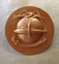 Vintage Us Navy Naval Ship Uss George Washington Submarine Nautical Plaque