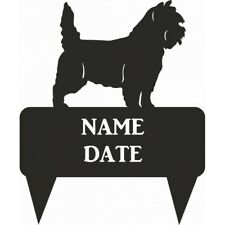 Cairn Terrier Rectangular Memorial Plaque