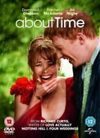 About Time DVD (2014) Bill Nighy
