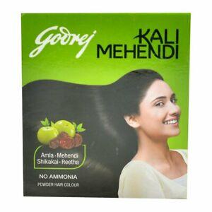 Godrej Kali Mehendi Powder Hair Color 8 Sachets