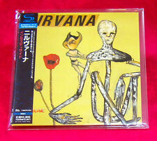 Nirvana Incesticide SHM MINI LP CD JAPAN UICY-75126
