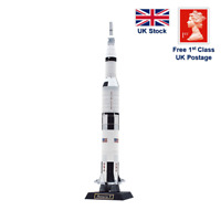 Apollo Saturn V Rocket - 3D Origami Paper Crafting Model DIY Kit puzzle
