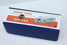 "Dinky Reproduction Box 514 GUY VAN ""WEETABIX"""