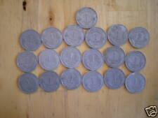 lot de 19 pieces 1 franc morlon alu