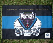 NRL PENRITH PANTHERS FLAG Centenary Large 900 x 600mm on stick - NEW!