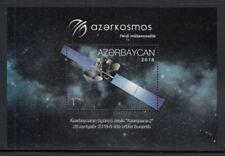 AZERBAIJAN Azerkosmos Communications Satellite MNH souvenir sheet