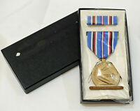 US Military - American Campaign Foreign Service Medal Set - Original Box Mint!