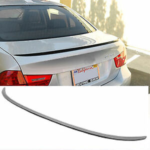 BMW 3 SERIES E90 SALOOL ABS PLASTIC 05-11 REAR BOOT LIP SPOILER M3 STYLE OME FIT