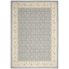 John Lewis NOURISON PERSIAN EMPIRE Wool RUG PE26 Silver 236 x 330 NEW