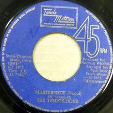 THE TEMPTATIONS 45 Masterpiece TAMLA MOTOWN Soul WEST INDIES PRESS #C1108