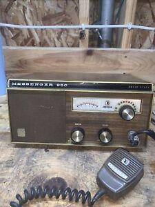 Johnson Messenger Vintage Solid State 250 Base Station CB Radio Transceiver