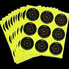 "NEW JACK PYKE SPOT SHOT TARGETS 10 x 2"" INSTANT FEEDBACK SELF ADHESIVE SHEETS"