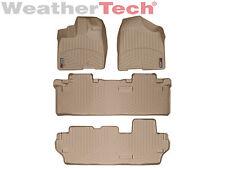 WeatherTech DigitalFit FloorLiner - Toyota Sienna-8 Passenger - 2011-2012 - Tan