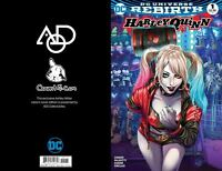 HARLEY QUINN #1 AOD COUNT i CON ASHLEY WITTER COLOUR COVER DC COMICS 2016