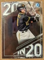 Nick Gonzales - Pirates CHROME 20 IN 2020 SUB-SET 🔥💎 2020 Bowman Draft MINT