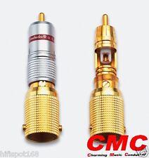 2 PCS CMC-1536-WF RCA Plugs