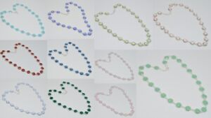 925 solid sterling silver pink rose quartz,iolite mixstone chain necklace