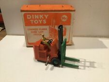 Vintage Dinky Toys Coventry Climax Fork Lift Truck In Its Original Box